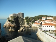 Dubrovnik, conference venue in the background